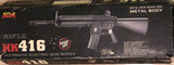 Vendo réplica Rifle HK416 metal body - foto