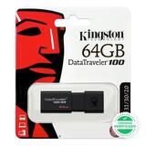 PENDRIVE MEMORIA USB KINGSTON 64GB