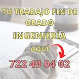 AYUDA -  TFM/TFG/PROYECTO INGENIERÍA- - foto