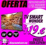 Tv wonder 58 pulgadas - foto