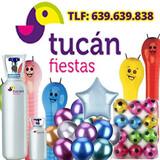 tienda de globos, pirotecnia, helio< - foto