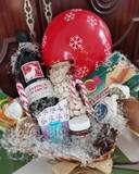 mini cestas navideñas - foto