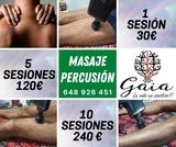 Masaje de percusiÓn - runners y deportis - foto