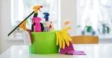 Trabajo de limpieza y tareas del hogar - foto