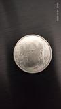 Moneda  de plata conmemorativa - foto