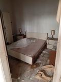 Desalojo de casas antiguas - foto