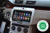 Radio Navegador GPS Android 9 Volkswagen - foto