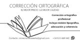 CORRECCIÓN ORTOGRÁFICA - foto