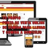 Punto de venta web de comida - foto