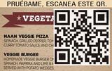 Carta menú digital - foto