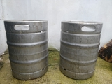 barril cerveza acero inoxidable - foto