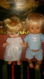 muñeco y muñeca de falca y toyse - foto