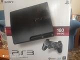 PS3 160 GB + 3 mandos + 7 juegos - foto