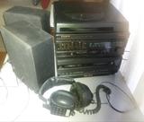 TOCADISCOS, RADIO, DOBLE CASSETTE,2 ALTA