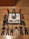 Muñecos WWE y Ring - foto