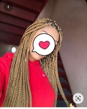 trenzas africanas y extensiones - foto