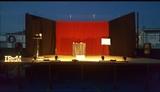 Fondo de escenario completo con iluminac - foto