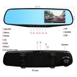 útil retrovisor con pantalla para coche - foto