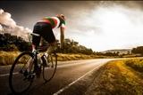 Entrenador de ciclismo - foto