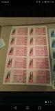 Billetes de loteria antiguos - foto