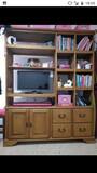 Vendo mueble de estantería y escritorio - foto