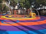 Parques infantiles goma sbr epdm - foto