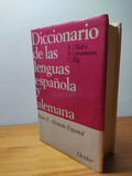DICCIONARIO ALEMÁN-ESPAÑOL SLABY/GROSSMA - foto