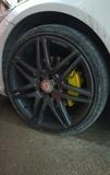 Llantas mercedes AMG 19 con neumáticos - foto