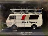 VW LT 35 Team AUDI Sport Escala 1:43 - foto