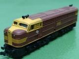 Locomotora diesel ALCO 1800 - foto