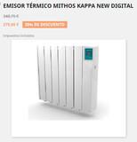 Radiador eléctrico Mithos opción módulos - foto