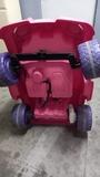 Coche rosa batería - foto