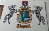 cuadros escudos heraldicos - foto