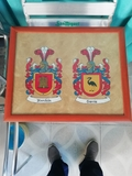 se pintan cuadros heraldicos - foto