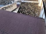 Instalación limpieza canales tejados - foto