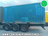 CONTENEDOR MARITIMO 12 METROS 40 PIES - foto