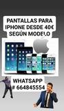 pantalla iphone 7 - foto