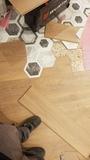 Montador de parquet - foto