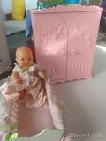 Armario y cuna bebe barriguitas - foto