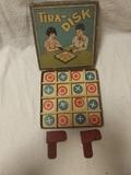 juego de mesa TIRA - DISK antiguo - foto