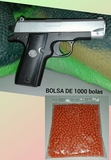 **** Pistola de bolas de plastico **** - foto