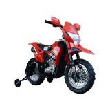 Moto de Batería Infantil con Ruedines Ro - foto