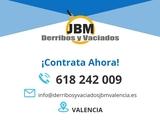 Derribos y desescombrados Valencia - foto