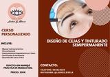 DISEÑO DE CEJAS Y TINTURADO SEMIPERMANEN - foto