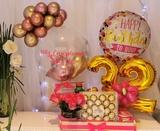 Detalles cumpleaños,desayunos, flores - foto