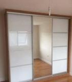 Armarios de espejos y cristal lacobel. - foto