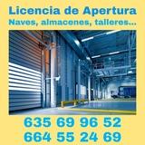 Licencia de apertura para naves, locales - foto