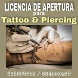 Licencia de Apertura para Tattoo - foto
