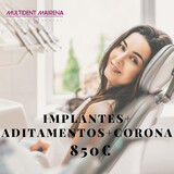 IMPLANTE DENTAL + CORONA 850€ - foto