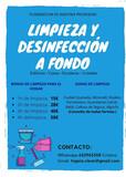 LIMPIEZA Y DESINFECCIÓN A FONDO - foto
